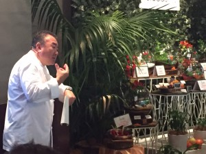 Tetsuya and Terrariums at the McCormick Flavour Forecast event